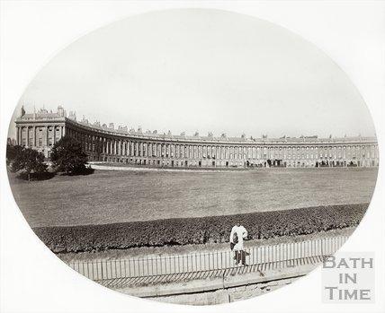 Royal Crescent, Bath c.1860?