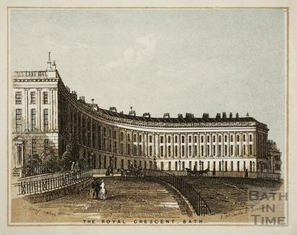 The Royal Crescent, Bath c.1851