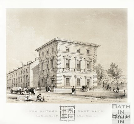 New Savings Bank, Charlotte Street, Bath c.1841