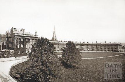 The Royal Crescent, Bath c.1900