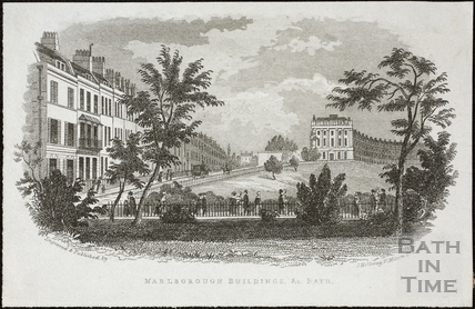 Marlborough Buildings, Bath c.1845