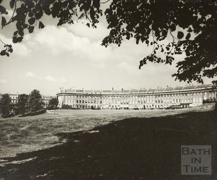 The Royal Crescent, Bath c.1950