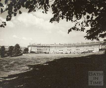 The Royal Crescent, Bath c.1950