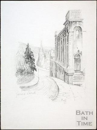 Guinea Lane, Bath c.1930