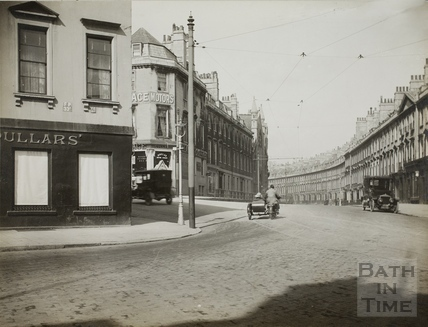 Prince's Buildings, Fountain Buildings and Paragon Buildings, Bath c.1930