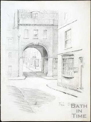 Trim Bridge, Bath c.1930
