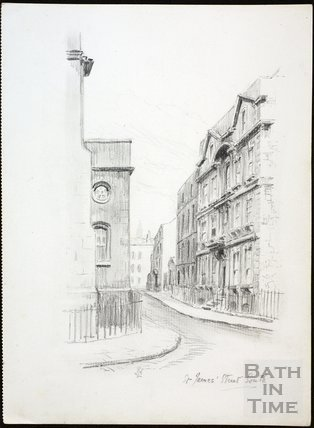 St. James's Street (South), Bath c.1930