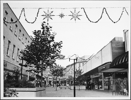 View along Southgate Street, Bath 1975