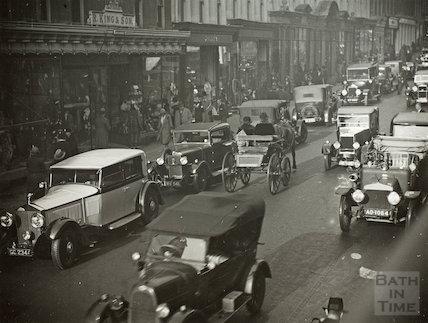 Milsom Street, Bath c.1928