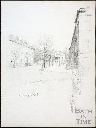 Pulteney Street, Bath c.1930