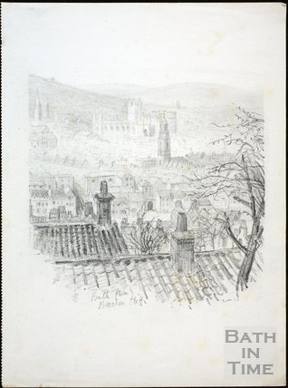 Bath from Beechen Cliff c.1930