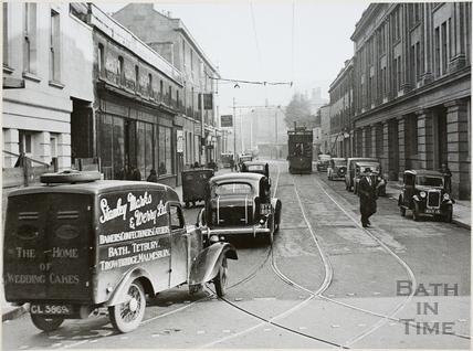 Dorchester Street, Bath c.1930