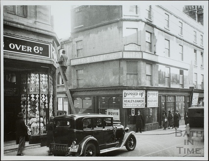 16 & 17, Stall Street and Abbeygate Street, Bath 1932