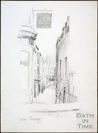 Union Passage, Bath c.1930