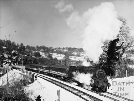 Somerset & Dorset Railway, Midford 1965