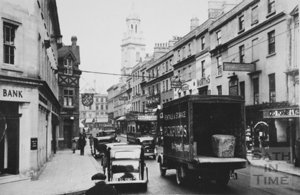 View along Southgate Street, Bath c.1935