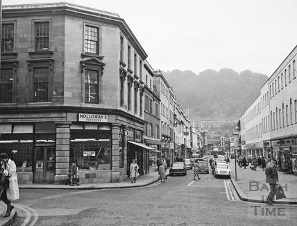 Southgate Street, Bath 1969