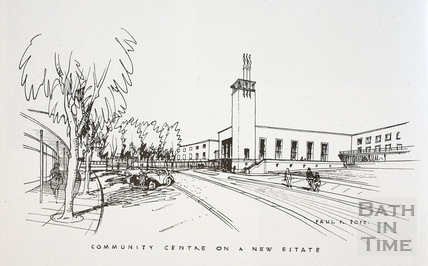 Community Centre on a new estate, Bath