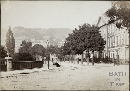 North Parade, Bath c.1890