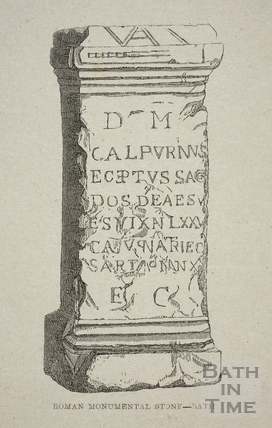 Roman Monumental Stone, Bath