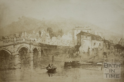 The Old Bridge, Bath c.1810