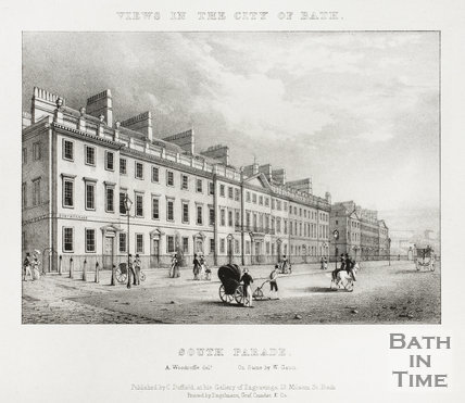 South Parade, Bath 1828