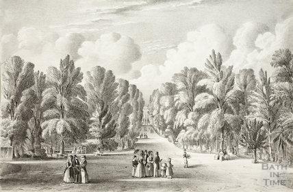 Sydney Gardens, Bath c.1840