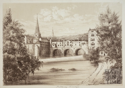 Pulteney Bridge, Bath c.1850