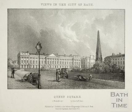Queen Square, Bath 1828