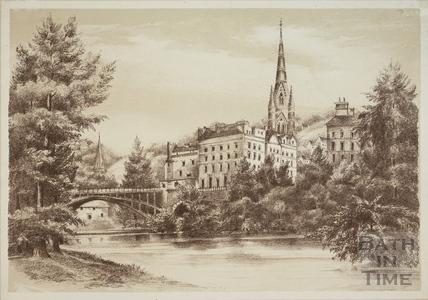 The North Parade Bridge, Bath 1881