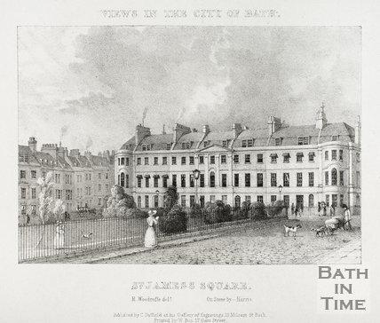 St. James's Square, Bath 1829