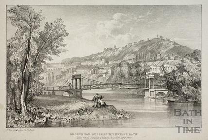 Grosvenor Suspension Bridge, Bath 1830