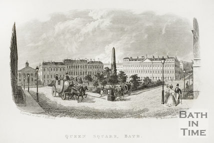 Queen Square, Bath c.1846