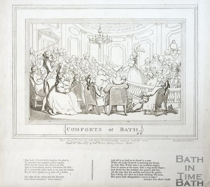 Comforts of Bath, Plate 2 1798, republished 1857