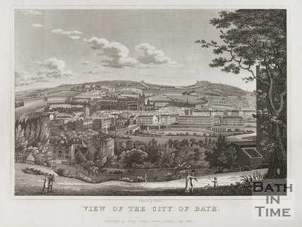 View of the City of Bath 1822