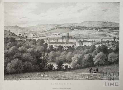Bath from the Southeast c.1834