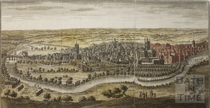 A Perspective View of the City of Bath 1758