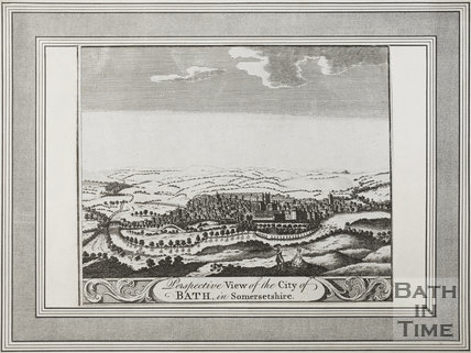 Perspective View of the City of Bath in Somersetshire 1794