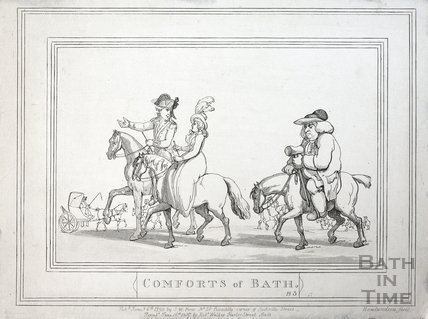Comforts of Bath, Plate 5 1798, republished 1857