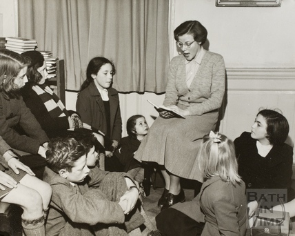 Story Time at Bath Municipal Library c.1965