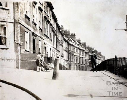 Walcot Parade, Bath c.1960