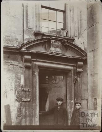 Doorway, Cold Bath House, 26, Claverton Street, Widcombe, Bath c.1903