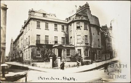 Belvedere Eye Infirmary, 1, Belvedere, Lansdown Road, Bath c.1906