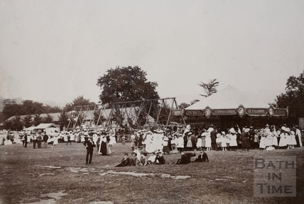 Twerton Fair, Bath c.1870