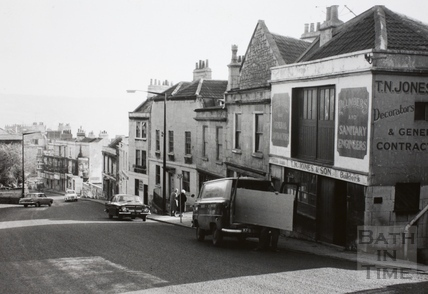 High Street, Lansdown Road, Bath 1966