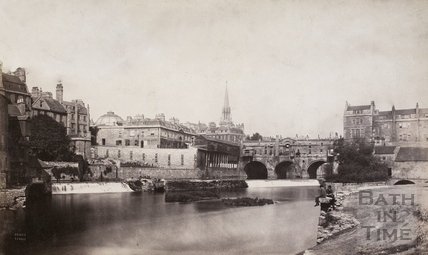 Pulteney Bridge, Bath c.1883