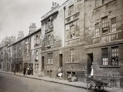 Milk Street, Bath c.1900