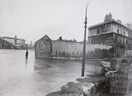 Floods, Avon Street, Bath 1937