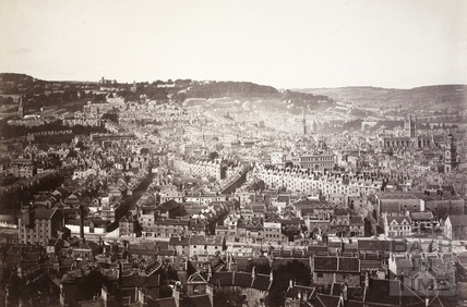 Bath from Beechen Cliff c.1910