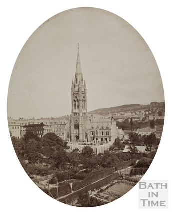 St. John's Church, South Parade, Bath c.1880